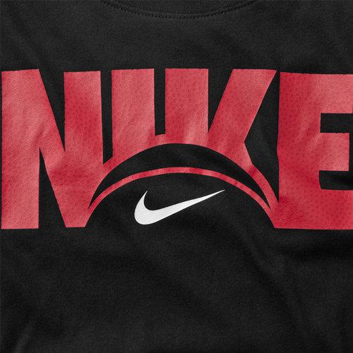 Nike Basketball Nike Dri-Fit Logo T-shirt Zwart Rood
