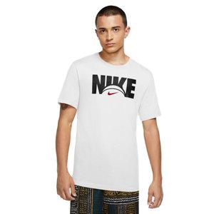Nike Basketball Nike Dri-Fit Logo T-shirt Weiß schwarz