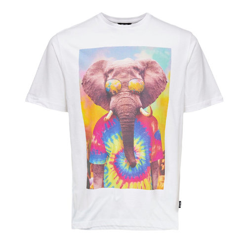 Only & Sons Only & Sons Olifant T-shirt