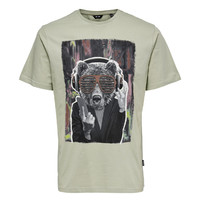 Only & Sons Wasbeer T-shirt