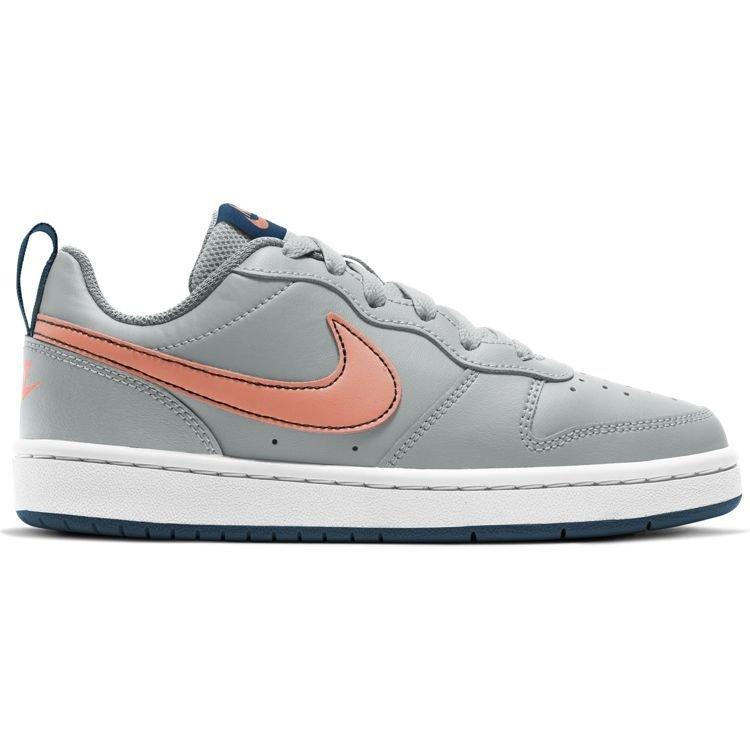 Nike Nike Court Borough Low Grijs Oranje