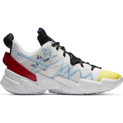 Nike Jordan Why Not? Zer0.3 SE (GS) Wit Rood Geel