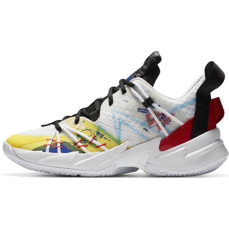 Nike Jordan Why Not? Zer0.3 SE (GS) Weiß Rot Gelb