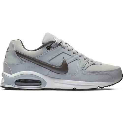 Nike Nike Command Leather Grijs Zwart Wit