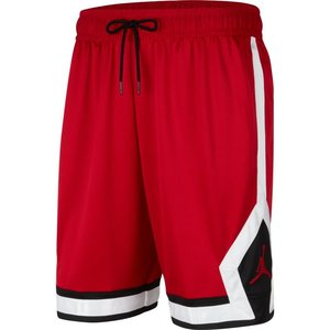 Jordan Basketball Jordan Jumpman Diamond Short Red Black White