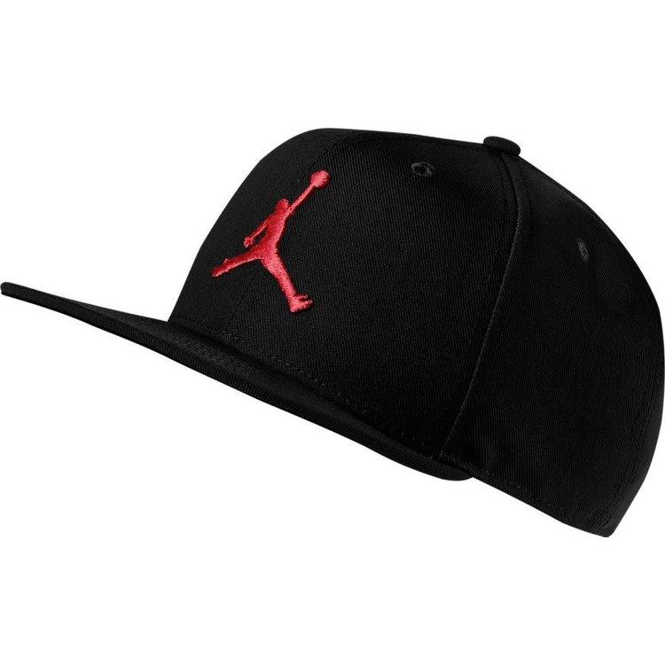 Jordan Jordan Pro Jumpman Snapback Cap Black Red