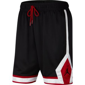 Jordan Basketball Jordan Jumpman Diamond Short Black White Red