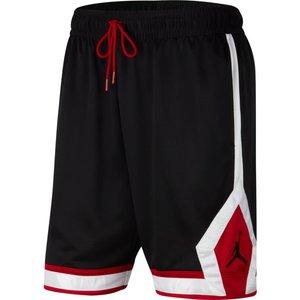 Jordan Basketball Jordan Jumpman Diamond Short Black White Red