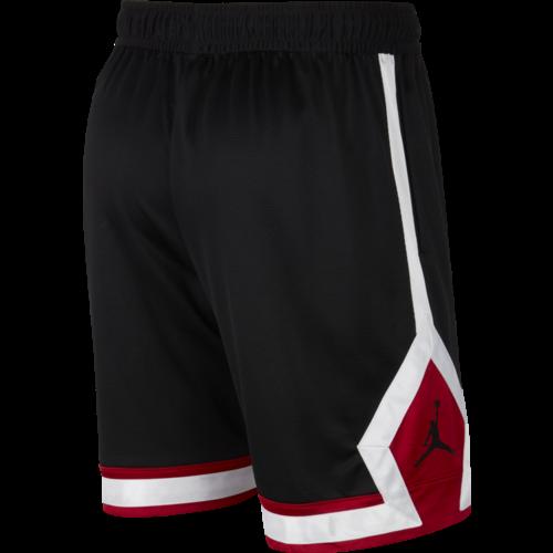Jordan Basketball Jordan Jumpman Diamond Short Zwart Wit Rood