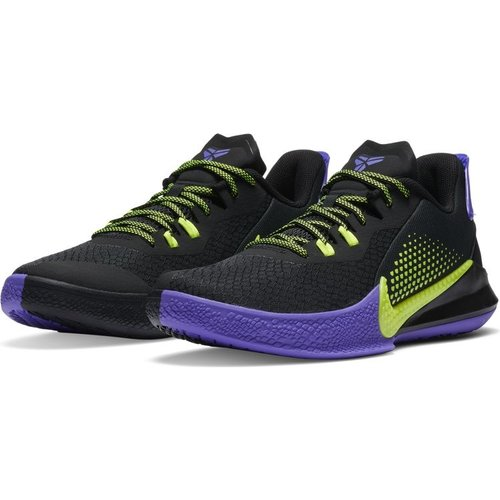 Nike Basketball Nike Mamba Fury Zwart Geel Paars