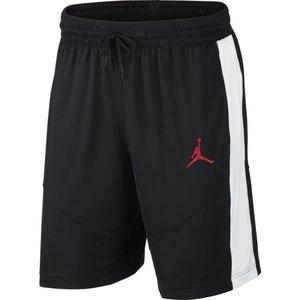 Jordan Basketball Jordan Off Court Basketbal Short Zwart Wit Rood