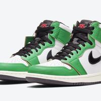 """Air Jordan 1 Retro High OG """"Lucky Green"""" is vanaf morgen beschikbaar!"""