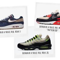 Denham en Nike stappen uit met de eerste drie sneakerontwerpen
