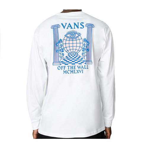 Vans Vans Min Pillars Long Sleeve Wit