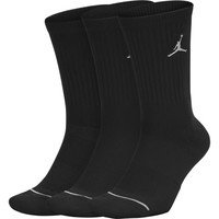 Jordan Everyday Max Crew Sokken 3-Pack Black