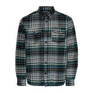 Only & Sons Only & Sons Lumberjacks Shirt Green Checkered