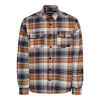 Only & Sons Lumberjacks Shirt Orange Checkered