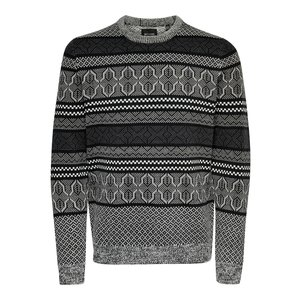 Only & Sons Only & Sons Onskarsten Crew Neck Gray