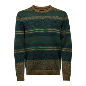 Only & Sons Only & Sons Onskarsten Sweater Green