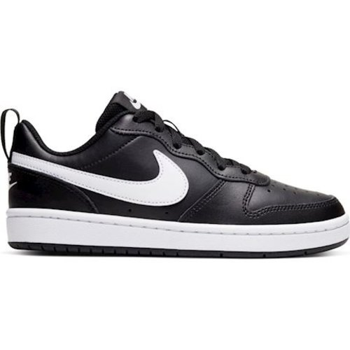 Nike Nike Court Borough Laag 2 Zwart Wit