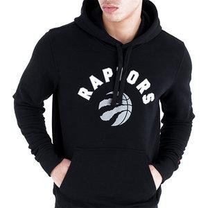New Era New Era Toronto Raptors Hoodie Zwart