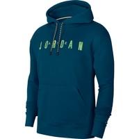 Jordan Sport DNA Fleece Utility Pullover Hoodie Blauw