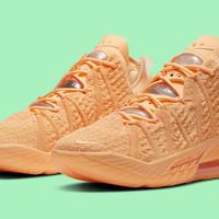 "De levendige release van de Nike Lebron 18 ""Sisterhood''"