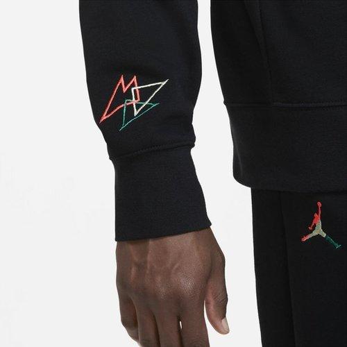 Jordan Jordan Sport DNA Fleece Utility Pullover Hoodie Zwart