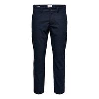 Only & Sons Pantalon Onsmark Pants Blauw Gestreept