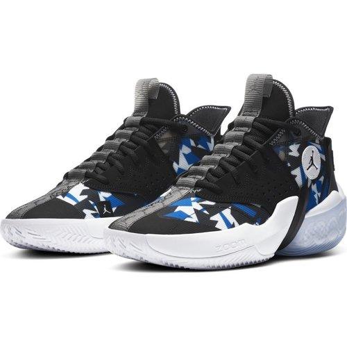 Jordan Basketball Jordan React Elevation Zwart Blauw