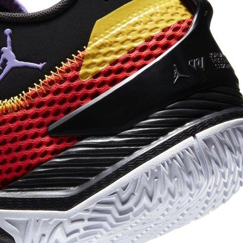 Jordan Basketball Jordan Westbrook One Take Infrared Volt Zwart