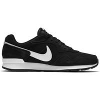 Nike Venture Runner Suede Zwart Wit