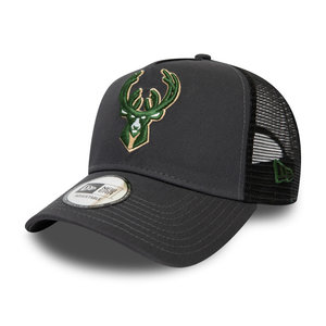 New Era New Era Milwaukee Bucks Adjustable Trucker Pet
