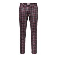 Only & Sons  Pantalon Rood Grijs