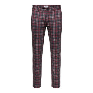 Only & Sons Only & Sons  Tap Pantalon Red Gray