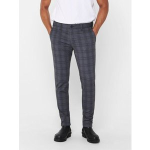 Only & Sons Only & Sons Pants Grey Chequered