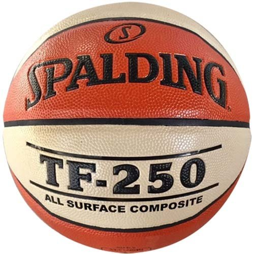 Spalding Spalding TF-250 Basketbal Braun weiß Indoor / Outdoor (6)