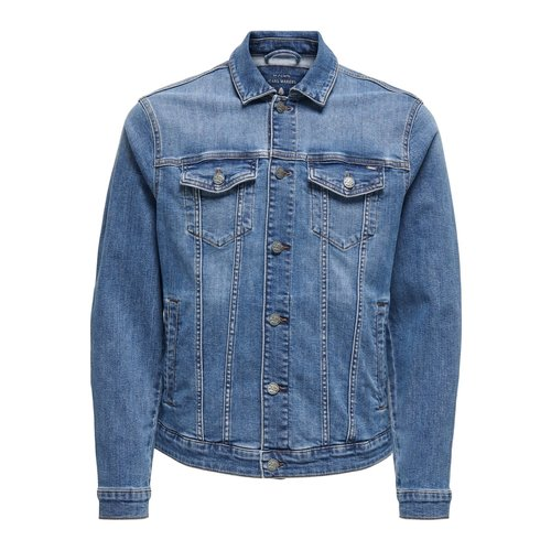 Only & Sons Only & Sons Life Trucker Denim Jacket