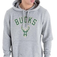 New Era Milwaukee Bucks Hoodie Grijs