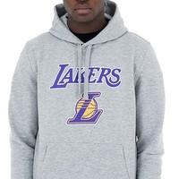 New Era LA Lakers Hoodie Grijs