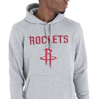 New Era Houston Rockets Hoodie Grijs