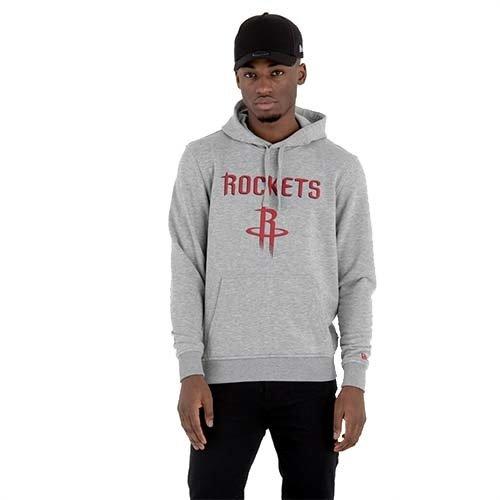 New Era New Era Houston Rockets Hoodie Grijs