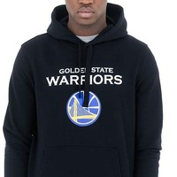 New Era Golden State Warriors Hoodie Zwart