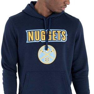 New Era New Era Denver Nuggets Hoodie Donkerblauw