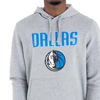 New Era Dallas Mavericks Hoodie Grijs