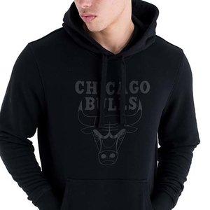 New Era New Era Chicago Bulls Hoodie Zwart Logo