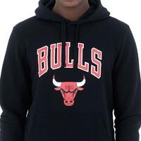 New Era Chicago Bulls Hoodie Zwart