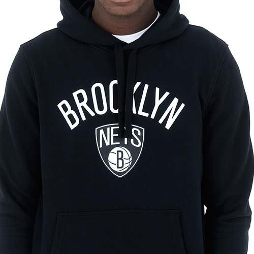 New Era New Era Brooklyn Nets Hoodie Zwart