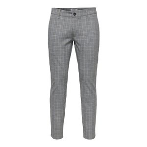 Only & Sons Only & Sons Check Print Pantalon