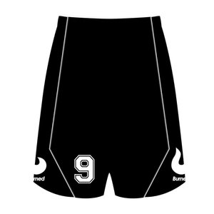 Burned Teamwear Den Dungk Wedstrijd Short